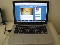 253: Today I started a song-of-the-day blog at srsldy.tumblr.com (srsldy) Tags: blog laptop 365 253 macbookpro songoftheday tumblr 3652013