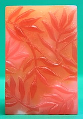 Autumn Bar $3.00 (Clelian Heights) Tags: fall leaves soaps unscented decorativesoaps cleliansoaps cleliancenter