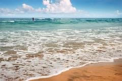 Bouznika (Malia Len ) Tags: beach water canon agua surf waves playa arena malia maroc passage marruecos plage olas rabat transparente waterscape 400d bouznika paradisiacal malialeon