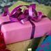 Ett rosa paket