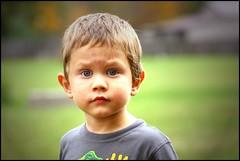 Grandson Sam (greenthumb_38) Tags: boy portrait bokeh grandson casual 70200mm canon40d jeffreybass