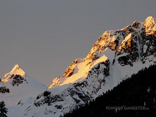 Nothing like a sunrise on a mountain