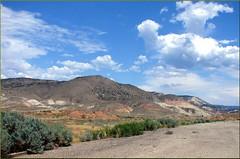 Utah Badlands, UT 7-23-13g (inkknife_2000 (8 million views +)) Tags: utah desert redrocks skyandclouds sanrafaelswell i70 mesas rockformations i15 greenriverut virginrivergorge sanrafaelreef dgrahamphoto
