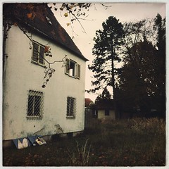 Munich Residencies V - this one's creepy (Casey Hugelfink) Tags: abandoned halloween munich mnchen haunted creepy spooky urbanexploring ghosthouse bruchbude