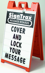 Sidewalk Sign Message Board | Signarama