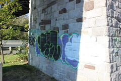 Sel, Jeek (Unfinished) (NJphotograffer) Tags: graffiti graff new jersey nj bridge highway sel seler jeek cloak
