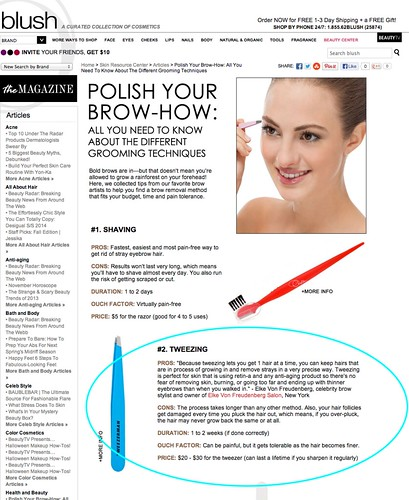 "_Polish Your Brow How  All You Need To Know About The Different Grooming Techniques • <a style=""font-size:0.8em;"" href=""http://www.flickr.com/photos/13938120@N00/10625970746/"" target=""_blank"">View on Flickr</a>"