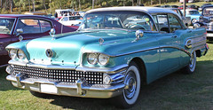 1958 Buick Road Master 75 (crusaderstgeorge) Tags: buick 1958 americanclassiccars classiccars blue road master roadmaster75 abmotor crusaderstgeorge