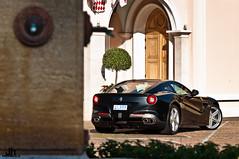 F12 Ferrari. (jhubertphotographie@free.fr) Tags: new horse church julien shoot italia power photoshoot ferrari monaco hubert shooting jh f12 berlinetta jhp monacochurch 740hp julienhubert ferrarif12 l999