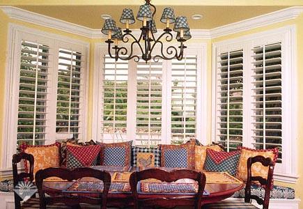 Houston shutters by Louver Shop Custom Shutters in Houston TX