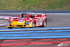 Alfa Romeo T33/3 (Raphal Belly Photography) Tags: auto red test cars car yellow les racetrack race jaune french t rouge paul photography eos high track photographie tech 33 south du belly peter exotic giallo le 7d passion alfa romeo provence tours raphael 10000 circuit rosso rb dix ricard 2012 supercars tipo mille raphal httt rossa t33 gialla castellet t333 egarage egaragecom