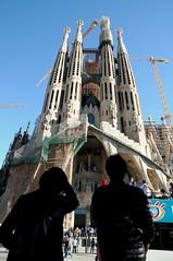 La Sagrada Familia (Guido Andolfato) Tags: chiesa sagradafamilia barcellona spagna catalogna antonigaud nikond300 vrzoom1685mmf3556gifed