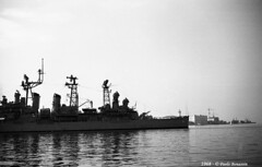 Warships USS Topeka (CLG 8) Trieste 1968 ott 10 (11) (Paolo Bonassin) Tags: italy 1968 usnavy cruiser trieste warships usstopekaclg8 paolobonassin