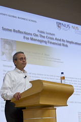 Public Lecture - Reflections on the Crisis and its Implications for Managing Financial Risks (NUS Business School) Tags: public its reflections for lecture financial crisis risks managing implications