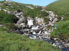 Stream crossing near Rhiconich
