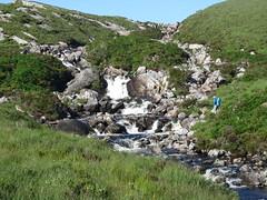 Stream crossing near Rhiconich