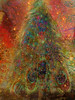 ....vivid dreaming.... (xandram) Tags: xmas tree photoshop stars lights vivid peacock manipulation textures