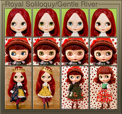 Neo Blythe Comparison: Royal Soliloquy (RoSo) and Gentle River (GR)
