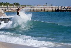 Chase Dunn (David Behar) Tags: ocean west beach sports water dave scott pier surf fort surfing stuart palm lauderdale deerfield jupiter skimboarding boarding jensen juno skim boynton skimboard commercal