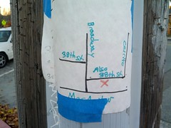 38th Street/Also 38th Street (Eric Fischer) Tags: oakland map