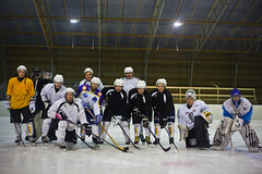 Icehockey in Finland (ReinierVanOorsouw) Tags: travel hockey norway canon finland denmark sweden skating icehockey roadtrip herman 5d canon5d scandinavia challenge redcross groepsfoto denemarken grouppicture markii zweden noorwegen nordkapp hofman rodekruis noordkaap hetglazenhuis 3fm scandinavië ijshockey seriousrequest glazenhuis 3fmseriousrequest canon5dmarkii noordkaapchallenge challenge2013