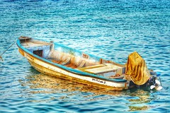 an old boat with beautiful colors (ayman_sh) Tags: old sea colors beautiful boat pretty sweet takenbyme lovley       flickrandroidapp:filter=none