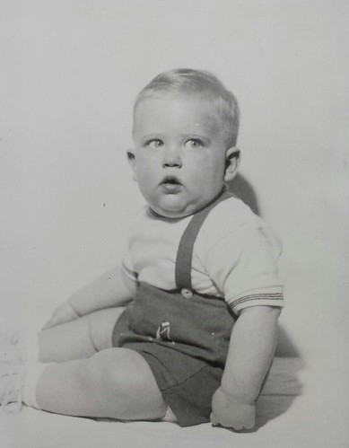 Brian Thomas Copeland, son of William Delvie Copeland, circa 1958.