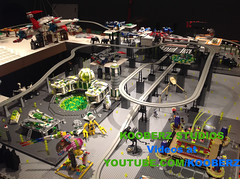 Monorail! (Kooberz) Tags: city building lego pirates bricks mining gaming pirate legos animation minifig monorail build epic brickfilm stopmotion minifigure brickart kooberz bricktube kooberzstudios youtubecomkooberz