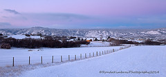 The Stillness of the morning (RondaKimbrow) Tags: winter snow mountains tower nature beauty fence landscape colorado head devils country scenic peaceful frontrange douglascounty serence coloradolandscapes rondakimbrowphotography