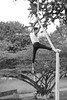 (DiegoMolano) Tags: calicolombia bw blancoynegro cali sanantonio 50mm nikon negro aire bnw hombre telas molano acrobata cruzadas cruzadasgold d3100 diegomolano cruzadasi