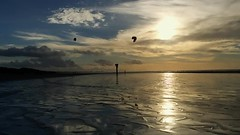 IJmuiderslag (Mark Meijrink) Tags: light sunset sea beach strand zonsondergang low north noordzee ijmuiden ijmuiderslag