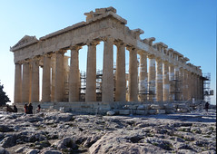 Parthenon from the northeast