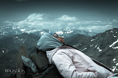 DULCES SUEOS ANA. (reinadelsueo) Tags: canon ana nubes monte vacaciones nwn bachimala 18135 2013