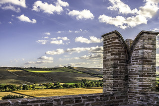vista da sopra il castello EXPLORE
