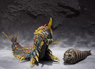 S.H.MonsterArts 魔斯拉(幼虫)與巴特拉(幼虫)套裝