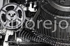 Gears Typewriter (Villorejo) Tags: typewriter machine gear whitebackground mechanism oldfashioned complicated singleobject machinepart insideof retrorevival