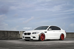 BMW F10 M5 on Velgen Wheels VMB5 20x9 & 20x10.5 (VelgenWheels) Tags: red sedan germany yahoo google asia sweden russia low taiwan f10 fresh turbo german bmw sick m5 twinturbo lowered v8 bing concave boost bimmer velgen fitment velgenwheels vmb5 floridabimmer
