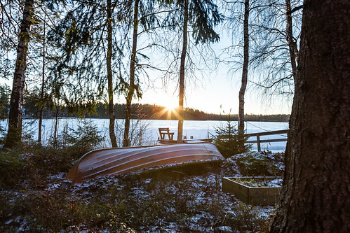 Finland camping site