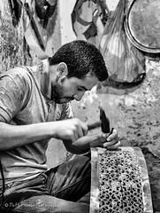 Concentration (MFranksPhoto) Tags: street holiday nikon market vibrant morroco busy marrakech souk medina souks d600 jemmaelfna