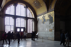 View of the Deësis mosaic, Hagia Sophia