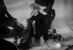 INITIATION (Mara Fox) Tags: black blackwhite witch magic demon ritual soom unicorn photostory
