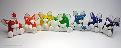 Rainbow Fairy Kittens (Quernus Crafts) Tags: cute wings rainbow polymerclay wands quernuscrafts fairykittens rainbowfairykittens