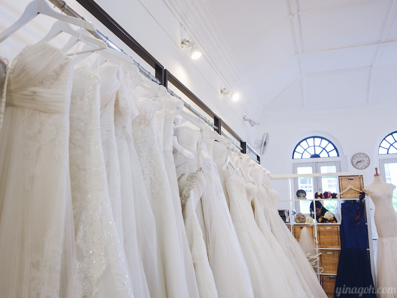 Wedding Prep: Gown Selection at Blessed Brides