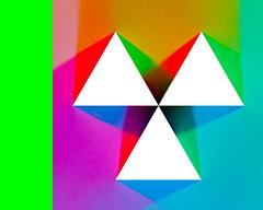 G (W. Pemulis) Tags: light green triangle g rgb gels lightingtest