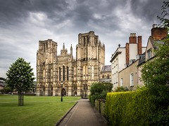 Wells Cathedral (Johnners61) Tags: uk england church architecture cathedral wells somerset wellscathedral olympus medieval explore 20000views m43 mft 10000views medievalarchitecture explored microfourthirds epm2