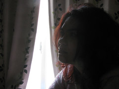 3981 Red Hair (mari-ten) Tags: people home japan hair tokyo 日本 東京 redhair kita kanto akabane 2012 eastasia 東京都 北区 赤羽 leizel 関東地方 201203 casacarina 20120315 カーサカリーナ