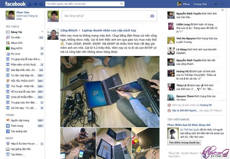 Cách quay trở lại giao diện Facebook cũ trước khi nâng cấp