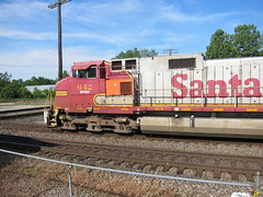 Santa (Fan-T) Tags: santa ohio 9 marion dash fe ge 612