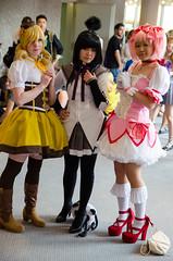 Dokomi 2014 (Oli_21) Tags: girls anime nikon dress cosplay sigma lolita convention dsseldorf maid duesseldorf madoka 2014 kleid kostm d5100