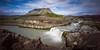 Þjófafoss (SteinaMatt) Tags: mountain river matt landscape photography waterfall iceland south foss ísland búrfell steinunn landslag ljósmyndun steina þjófafoss matthíasdóttir